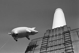 Battersea Power Station 1976