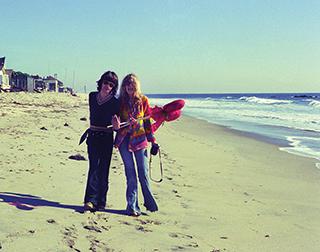 Mick and Carinthia – 1976